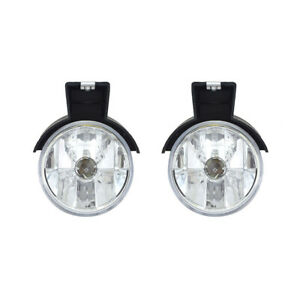 New Pair Of Fog Light Fits Dodge Dakota 1997 99 2000 55076792 Ch2593104 55076793