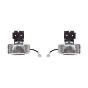 New Pair Of Fog Lights Fit Jeep Grand Cherokee 1997 1998 55155312 Ch2592115