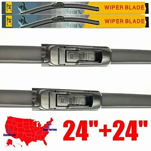 For Dodge Ram 1500 2500 3500 4500 5500 2002 2008 Wiper Blades U