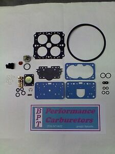 Holley 9776 Deluxe Carburetor Rebuild Kit 450 Cfm Tunnel Ram
