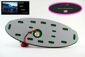 Pink Led Lo Glow Light Assessory For Your 7 Wide Ford Emblem Badge