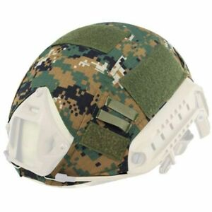 Tactical Cover Hunting Camouflage Paintball Helmet Accessories Outdoor Sport New $11.58