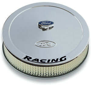 Proform 302 351 Ford Racing 13 Air Cleaner Chrome