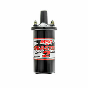 Msd Blaster 2 Coil High Performance Coil Use With Msd 6 Series Ignition 82023