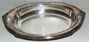 Wilcox Silver Plate Oval Serving Platter Tray 12 X 8 1 5 Deep