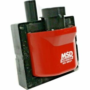 Msd Ignition Coil 8231 Blaster Black 40000v E core Points Late Chevy Gm 96 97