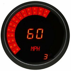 Intellitronix M9222r 3 3 8 Led Digital Speedometer Programmable With High Speed
