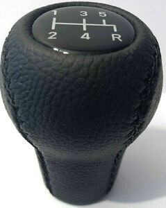Ford Mustang Natural Leather Shift Knob 5 Speed Manual 1979 2004 M12x1 75
