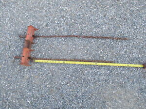 A Jewel 1 Ridgid Straight Chain Vise Clamp Welding Weld Welder Pipe 461