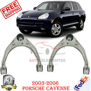 Set Of 2 Front Upper Control Arms Kit For 2003 2006 Porsche Cayenne Touareg Q7