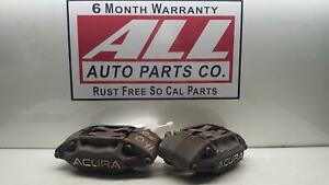 05 06 07 08 09 10 11 12 Acura Rl Front Left Right Pair Brake Calipers Oem