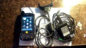 Motorola Mc65 Mc659b pd0baa00100 Handheld Scanner With Battery Charger Cables