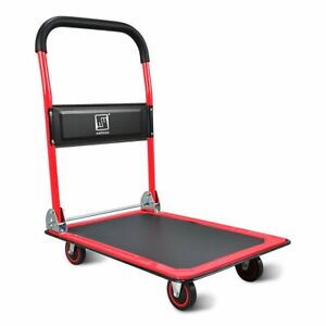 Push Cart Dolly By Wellmax Functional Moving Platform Hand Truck Foldable