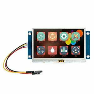 Kkmoon 4 3 Inch Tft Lcd Display Serial Port Color Lcd Module Enhanced Hmi