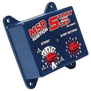 Msd Ignition 8987 Start Step Timing Control Box