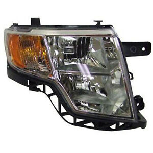 Head Lamp Assembly Passenger Side Fits 2007 2010 Ford Edge 114 01017ar