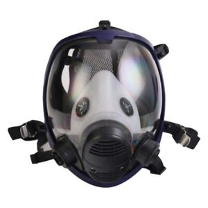 Gas Mask Full Face Painting Spraying Respirator For 6800 7 In 1 Paint Facepiece