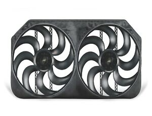Flex A Lite 284 Dual Electric Fans For Express 2500 3500 W 6 6l Duramax Diesel