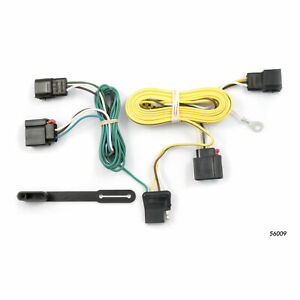 56009 Curt 4 way Flat Trailer Wiring Connector Harness Fits Jeep Grand Cherokee