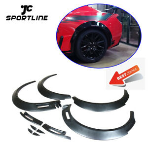 For Chevrolet Camaro 16 19 Fender Flares Extra Wide Body Wheel Arches Frp