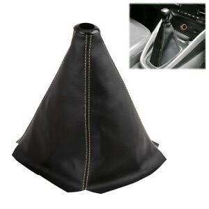 Universal Pvc Faux Leather Gear Shifter Knob Cover Boot Protector For Car