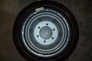 Nifty Tm64 Towable Boom Lift Replacement Wheel Tires Oem Factory Wheel