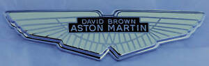 Aston Martin Winged Logo Badge Db2 Db2 4 Db4 Db5 Db6