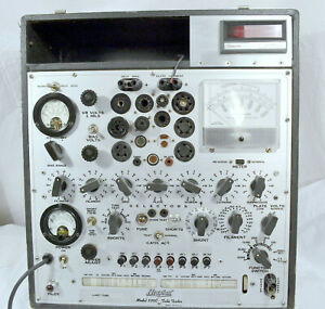 Hickok 539c 6l6 6550 12ax7 Triode Tube Amplifier Calibrated Upgraded Tester