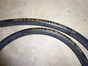 69 72 Mopar Cuda Dart Gtx Gates Dated Pcv Brake Booster Hose 18 No Date Code