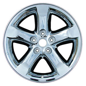 20 Dodge Ram 1500 New Chrome Clad Wheel Rim 2267