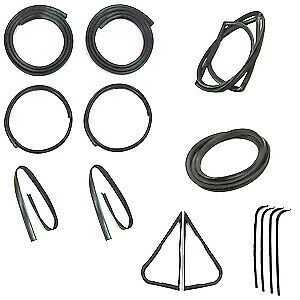 Ford Truck Models With Chrome Trim Weatherstrip Kit 1967 1968 1969 1970