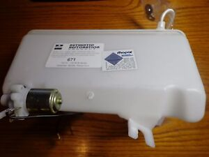 73 74 Mopar B Body Charger Windshield Washer Bottle And Electirc Pump