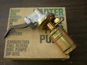 Nos Carter Ford 1965 1966 1967 289 Hipo Fuel Pump Mustang Fairlane Comet Shelby