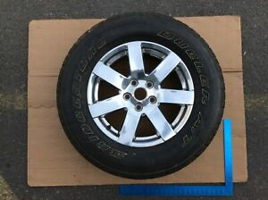 12 18 Jeep Wrangler Wheel Rim 18x7 1 2 7 Spoke And Tire Bridgestone Dueler E