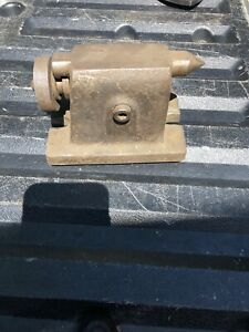 Vintage Metal Wood Lathe Tail Stock southbend Machinist
