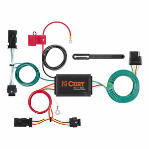 56354 Curt 4 way Flat Trailer Wiring Connector Harness Fits Chevrolet Cruze