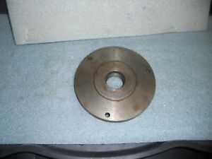 6 Diameter Chuck Back Plate With 1 1 2 X 8 Mounting Thread South Bend Atlas