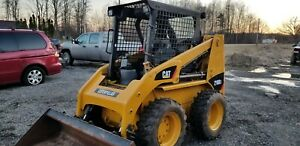 2012 Cat 216b3 Skid Steer Skidloader Bob Cat Loader Bobcat Pilot Hand Controls