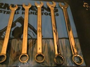 Matco Bonney Large Combination Wrench Set Sae 5pcs