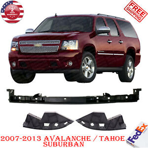 Front Bumper Bracket Outer Filler For 2007 2013 Avalanche Tahoe Suburban 3pc