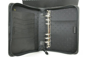 Franklin Planner 18731 Compact Sewn Leather 1 Zipper Binder Fcp 895 05