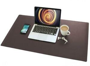 Leather Desk Pad 36 x 20 Vinecreations Office Mat 36 X Black