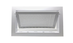 Freedom Flood Vent Fema Compliant Icc es Certified 250 Sq Ft Coverage White