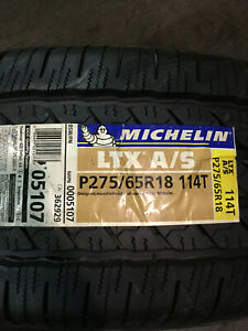 4 New 275 65 18 Michelin Ltx A S Tires