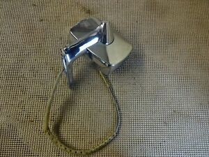 1968 69 Buick Skylark Gs Riviera Electra Wildcat Lh Remote Chrome Side Mirror 2