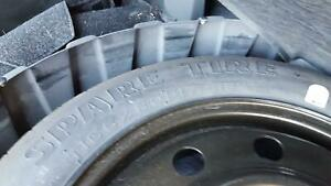 07 14 2010 Ford Edge 17x4 1 2 Compact Spare Wheel And Tire 3671 165 80d17