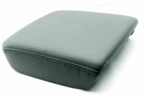 Fits 06 14 Honda Ridgeline Center Armrest Console Cover Synthetic Leather Gray
