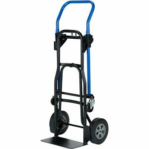 Harper Trucks 3 in 1 Quick Change Convertible Hand Truck W nose Extension