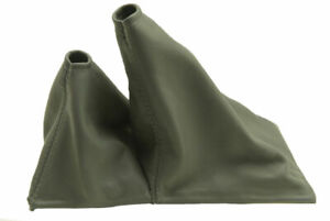 Fits 90 95 Toyota 4runner Manual Shift Boot Genuine Leather Gray