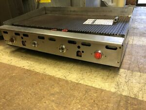 Gas Griddle Used